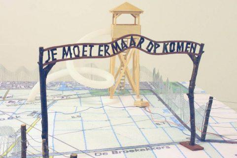 Je moet er maar op komen, maquette van ons ontwerp voor park Lingezegen